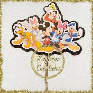 Other - Mickey Mouse and friends cake topper